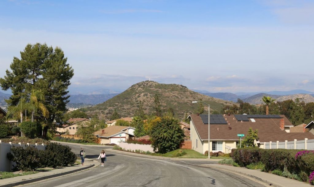 Rancho Bernardo 92128 View Of Mount Soledad