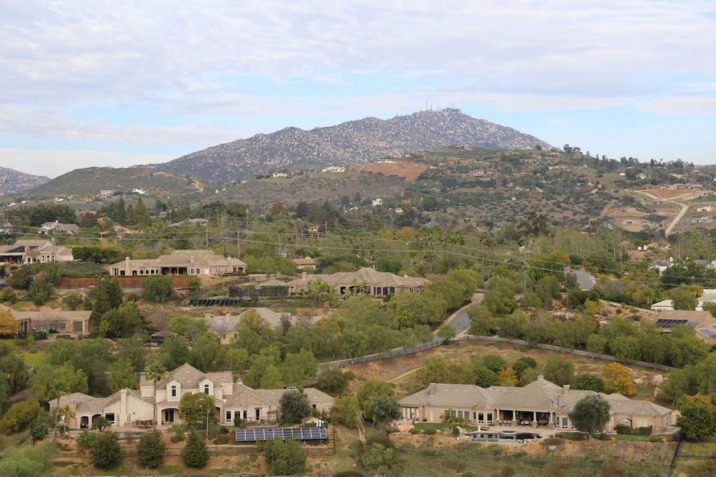 Poway 92064 Homes For Sale View Of Mount Woodson
