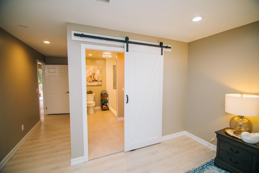 Ezra Lane Master Bedroom Barn Door